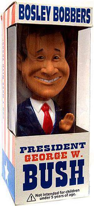 Bosley Bobbers President George W. Bush Bobble Head [Damaged Package]