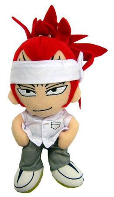 Bleach Series 3 Renji 7-Inch Plush Figure [White Shirt]