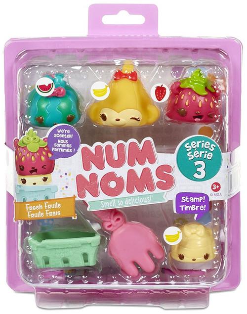 Num Noms Series 3 Fresh Fruits Starter 4-Pack