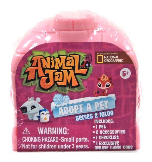 Animal Jam Adopt A Pet Series 2 Igloo Mystery Pack [Random Color]