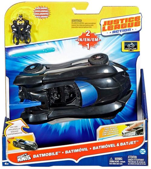 Justice League Batmobile & Batjet Action Figure & Vehicle Set