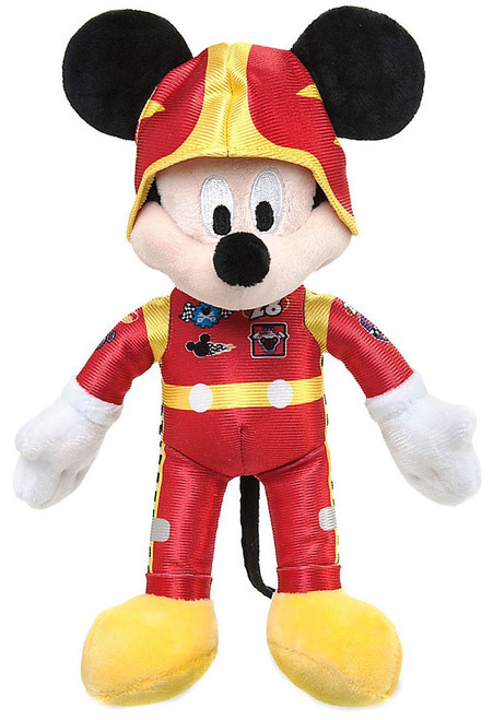 Disney Mickey & Roadster Racers Mickey Exclusive 9.5-Inch Plush
