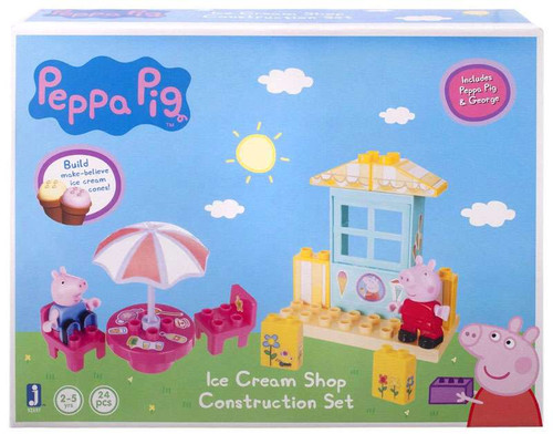 Peppa Pig Ice Cream Shop Construction Set #92697 [Damaged Package]