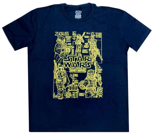 Funko Star Wars The Force Awakens Bounty Hunters Exclusive T-Shirt [Large]