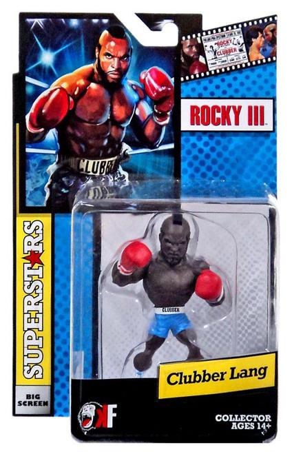 Rocky III Big Screen Superstars Clubber Lang Mini Figure [Blue Shorts]