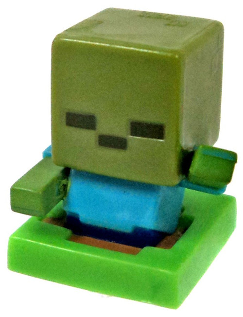 Minecraft Mob Pack Rising Zombie 1-Inch Mini Figure [Loose]