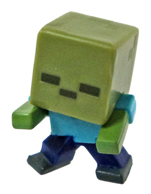 Minecraft Mob Pack Charging Zombie 1-Inch Mini Figure [Loose]