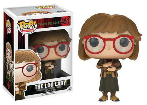 Funko Twin Peaks POP! TV The Log Lady Vinyl Figure #451