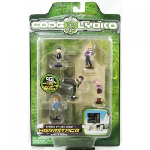 Cartoon Network Code Lyoko Hermitage PVC Mini Figure