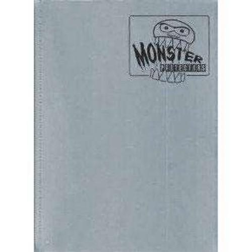 Card Supplies Steel Gray 9-Pocket Binder