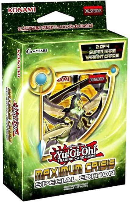 YuGiOh Trading Card Game Maximum Crisis Special Edition