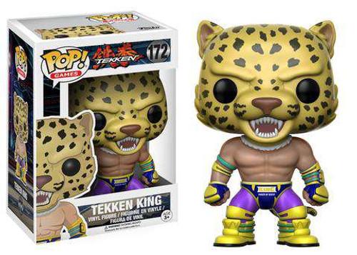 Funko POP! Games Tekken King Vinyl Figure #172