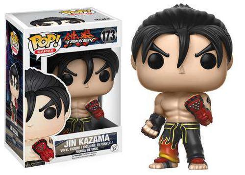 Funko Tekken POP! Games Jin Kazama Vinyl Figure #173