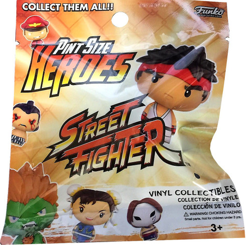 Funko Pint Size Heroes Street Fighter Mystery Pack