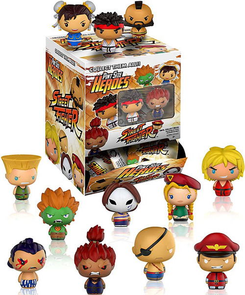 Funko Pint Size Heroes Street Fighter Mystery Box [24 Packs]