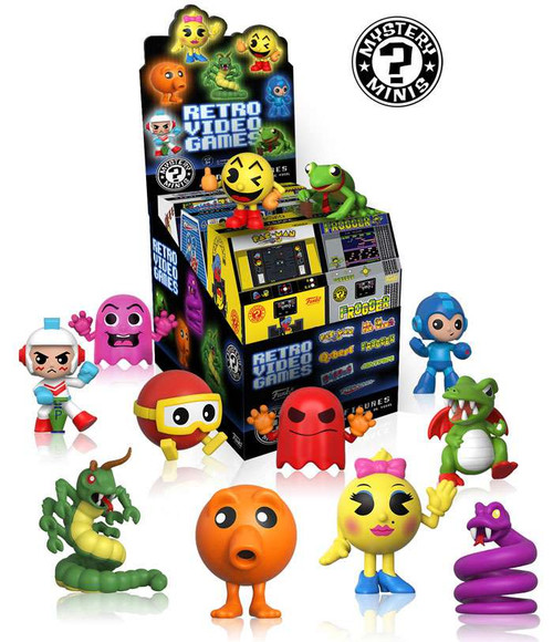 Funko Video Game Retro Video Games Mystery Box [12 Packs]