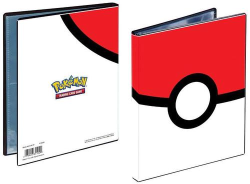 Ultra Pro Pokemon Trading Card Game Card Supplies Poke Ball 4-Pocket Binder