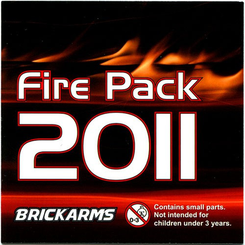 BrickArms Fire Pack 2011 Weapons Pack