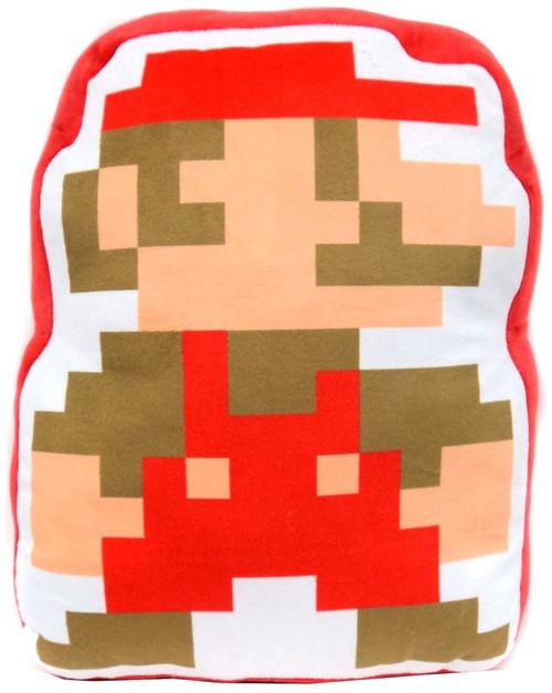 Super Mario Bros Mario 8 Bit Plush Pillow