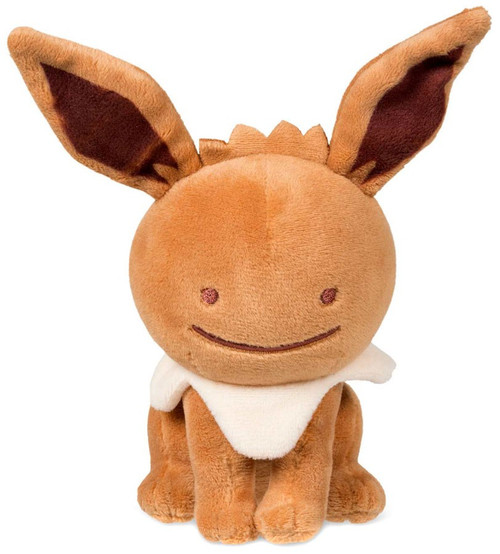 Pokemon Ditto as Eevee Exclusive 6.75-Inch Plush
