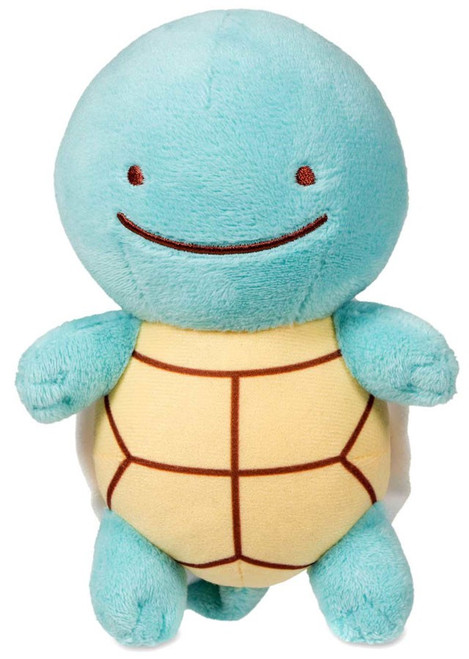 Pokemon Ditto as Squirtle Exclusive 6-Inch Plush