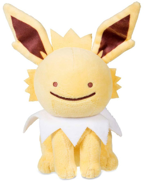 Pokemon Ditto as Jolteon Exclusive 6.5-Inch Plush