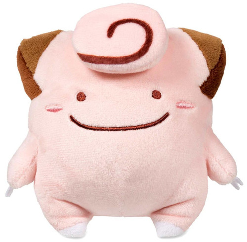 Pokemon Ditto as Clefairy Exclusive 5-Inch Plush