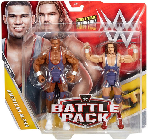 WWE Wrestling Battle Pack Series 44 Jason Jordan & Chad Gable Action Figure 2-Pack [American Alpha]