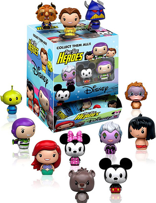 Funko Disney Pint Size Heroes Series 1 Mystery Box [24 Packs]