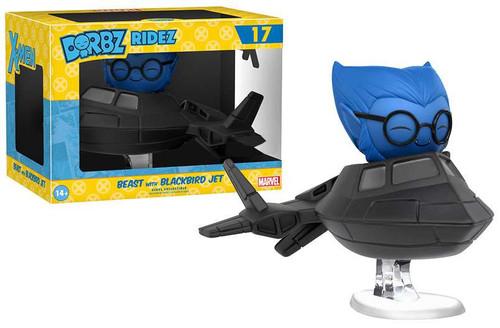 Funko Marvel X-Men Dorbz Ridez Beast with Blackbird Jet Exclusive Vinyl Figure #17