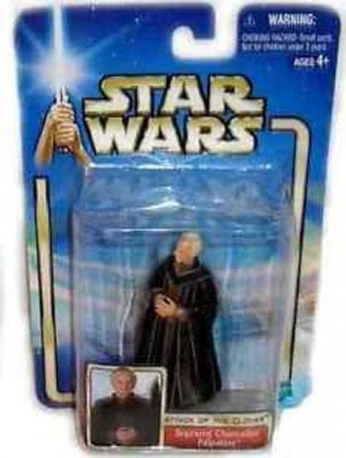 Attack of the Clones Qiyun Star Wars Saga Supreme Chancellor Palpatine Action Figure