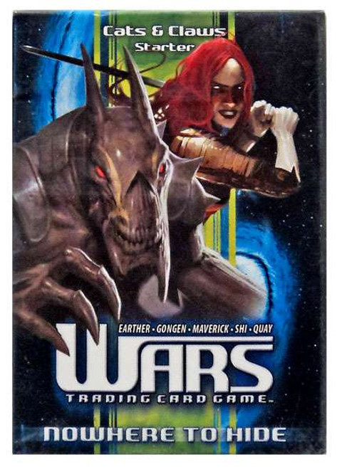 Wars Trading Card Game Incursion Cats & Claws Starter Deck