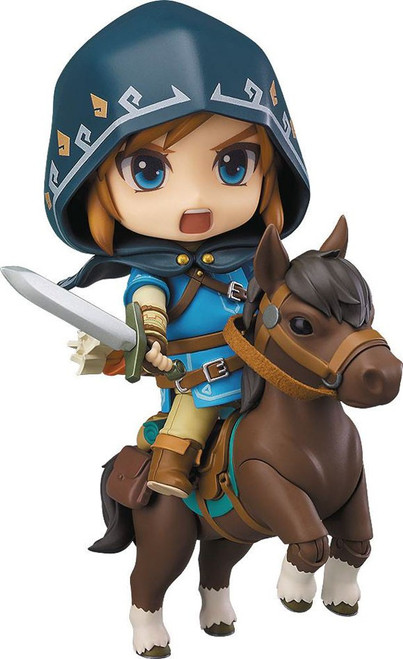 The Legend of Zelda Breath of the Wild Nendoroid Link DX Action Figure #733-DX [Breath of the Wild]