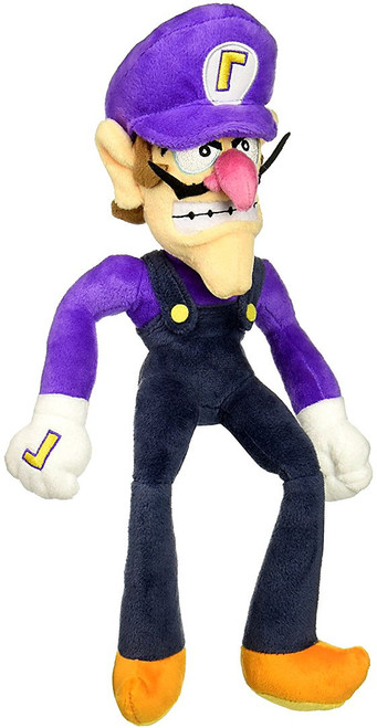 Super Mario Waluigi 13-Inch Plush (Pre-Order ships January)
