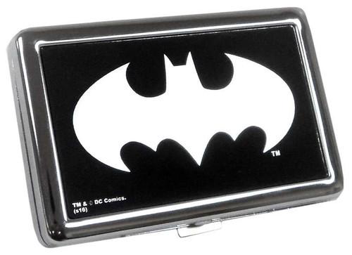DC Batman Logo Metal Business Card Case Apparel