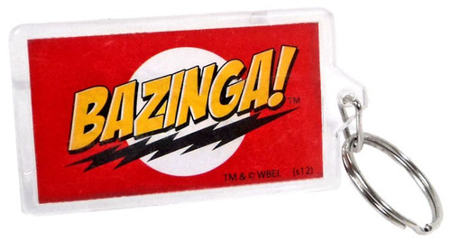 The Big Bang Theory Bazinga Keychain