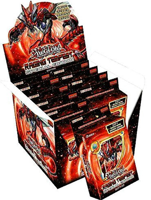 YuGiOh Trading Card Game Raging Tempest Special Edition DISPLAY Box [10 Units]