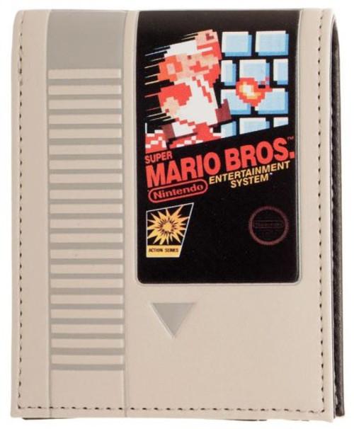 Nintendo Super Mario Cartridge Bi-Fold Wallet Apparel