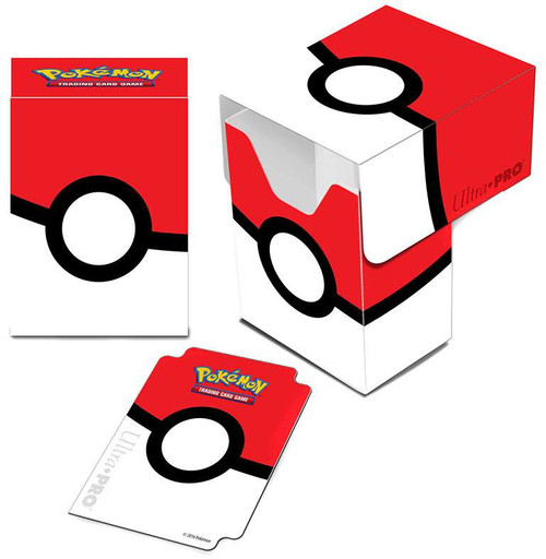Ultra Pro Pokemon Trading Card Game Card Supplies Pokeball Deck Box