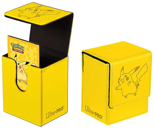 Ultra Pro Pokemon Trading Card Game Premium Flip Pikachu Deck Box