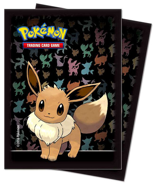 Ultra Pro Pokemon Trading Card Game Eevee Card Sleeves [65 Count]