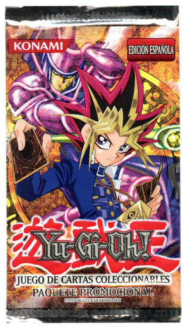 YuGiOh Trading Card Game Spanish Promotional Booster Pack