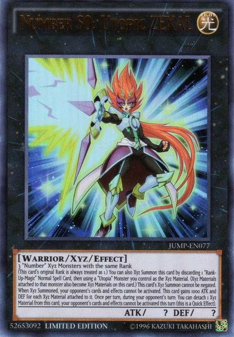 YuGiOh Shonen Jump Ultra Rare Number S0: Utopic ZEXAL JUMP-EN077
