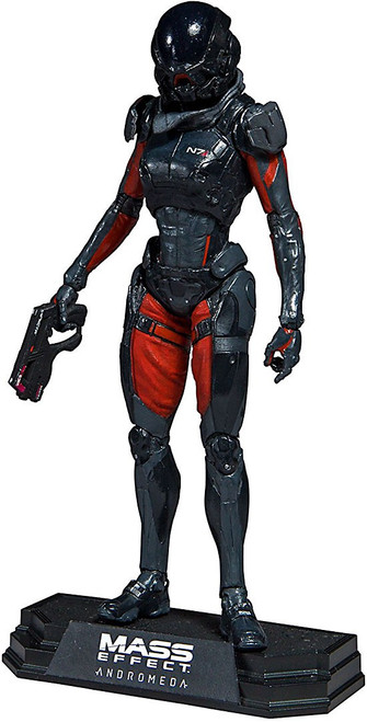McFarlane Toys Mass Effect Andromeda Color Tops Sara Ryder Action Figure #22