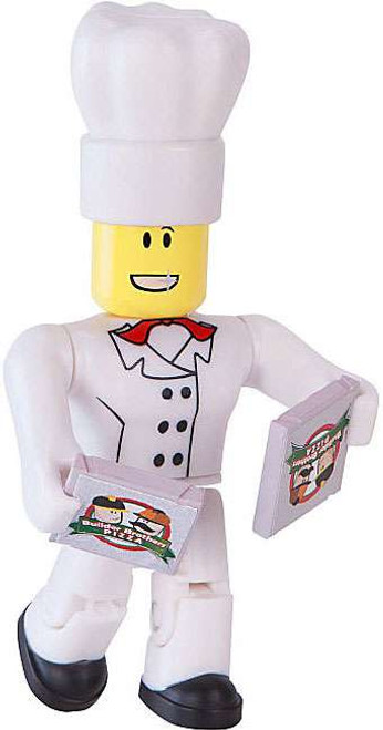 Roblox Series 1 Chef with 2 Pizza Pies 3-Inch Mini Figure [No Code Loose]