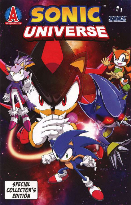 Sonic The Hedgehog Sonic Universe #1 Special Collector's Edition Comic Book