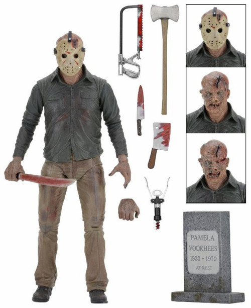 NECA Friday the 13th Part 4 The Final Chapter Jason Voorhees Action Figure [Ultimate Version]