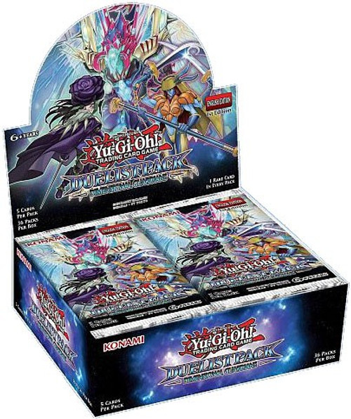 YuGiOh Trading Card Game Duelist Pack Dimensional Guardians Booster Box [36 Packs]
