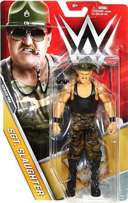 WWE Wrestling Series 69 Sgt. Slaughter Action Figure