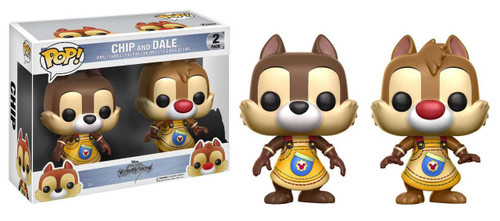 Funko Kingdom Hearts POP! Disney Chip & Dale Vinyl Figure 2-Pack